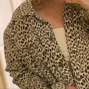 Jackets & Coats - cheetah print jacket
